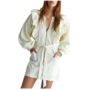 💖Free People Imogene Cotton Mini Dress